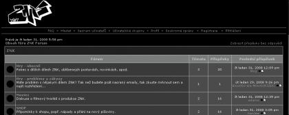 ZNK má své fórum