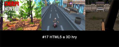 #17 Nášup HTML5 a 3D her