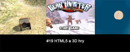 #19 Nášup HTML5 a 3D her