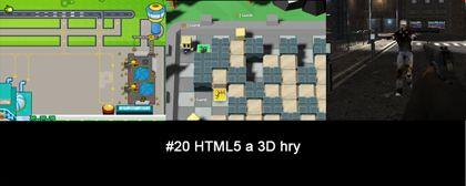 #20 Nášup HTML5 a 3D her