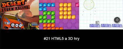 #21 Nášup HTML5 a 3D her