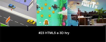 #23 Nášup HTML5 a 3D her
