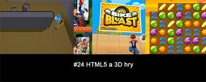 #24 Nášup HTML5 a 3D her