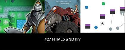 #27 Nášup HTML5 a 3D her
