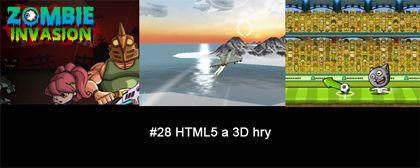 #28 Nášup HTML5 a 3D her