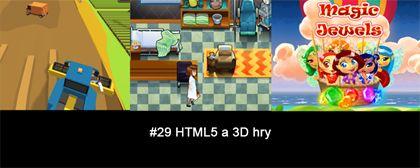 #29 Nášup HTML5 a 3D her