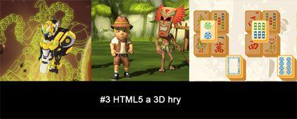 #3 Nášup HTML5 a 3D her