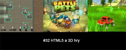 #32 Nášup HTML5 a 3D her