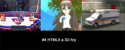4# Nášup HTML5 a 3D her