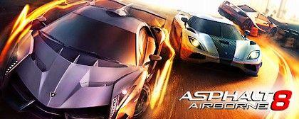 A králem závodních her se stává... Asphalt 8: Airborne
