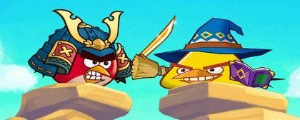 Angry Birds Fight! - match-3 s rozzlobenými ptáky vás chytne (88 %)