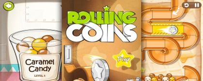 Another FREE free game for iOS - Rolling Coins