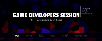 Game Developers Session 2013 next month in Prague
