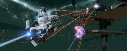 MMO Star Conflict - Finally official launch