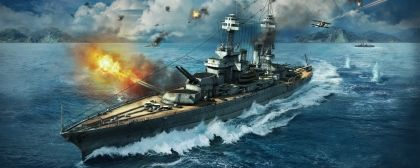 MMO World of Warships - Reminds iteself and some cool screens