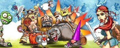 Mew Facebook game - Vikings Gone Wild