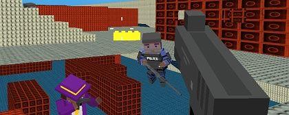 Online hra pro více hráčů Blocky Gangster Warfare za 90%