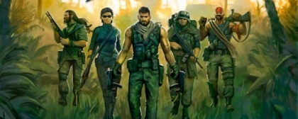 Browser MMO Jagged Alliance Online - let's go shooting