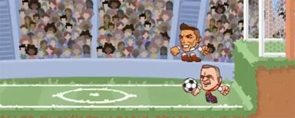 Zahrajte si HTML5 hru Heads Arena: Soccer All Stars za 95%