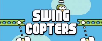 Zapomeňte na Flappy Bird, teď přichází Swing Copters