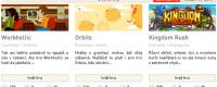Jak si přejete, aby vypadala homepage Freegame?