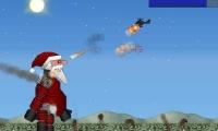 Giant evil robotic santa rampage