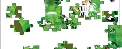Ben 10 alien force jigsaw