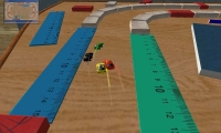 Mini-cars racing