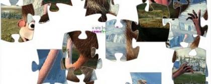 Ice Age Crash&Eddie Jigsaw Puzzle Game