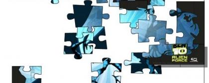 Ben 10 Alien puzzle Jigsaw