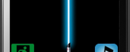 HTC Touch Diamond light saber