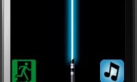 HTC Touch Diamond light saber