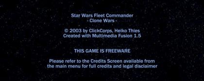Star Wars Fleet Commander: Clone Wars