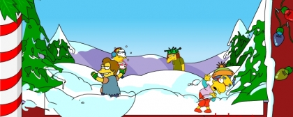 Springfield Snow Fight