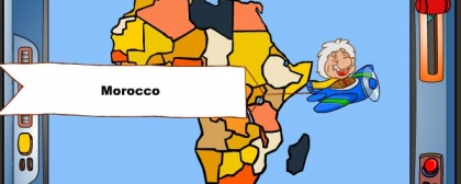 Geography Game – Africa