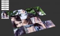 Genelia Dsouza 3D Sliding Puzzle