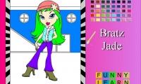 Bratz Jade Coloring 2