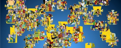 Jigsaw puzzle: all heroes