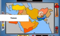 Geography Game – Middle East