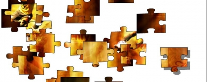 Soccer puzzle jigsaw