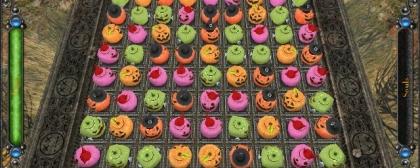 Halloween Night. Pumpkin Match