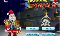 Swagging Santa