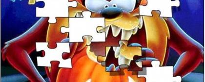 Cartoon Network Taz Jigsaw Puzzle