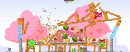 Angry Birds Seasons - Valentine
