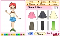 Bratz girl dress up
