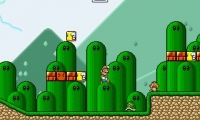 Super Luigi and the Golden Shrooms