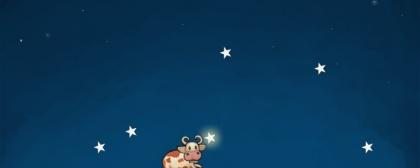 Moo at the Moon