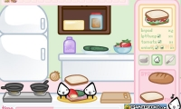 Sandwich Cooking
