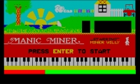 Manic Miner Flash