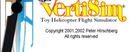 Vertisim Toy Helicopter Flight Simulator